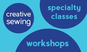 Fashion design, creative workshops, events