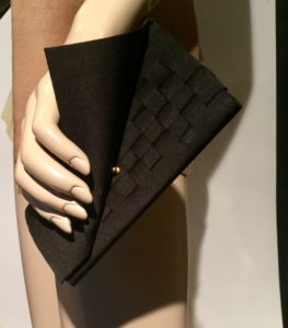 Woven Handbag - Inside view